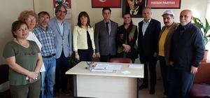 Milletvekili Hürriyet, Vatan Partisini ziyaret etti