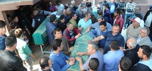 Samsun'daki cami inşaatında çökme