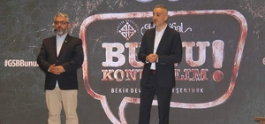 Bekir Develi ve Erem Şentürk Yozgat'ta gençlerle buluştu