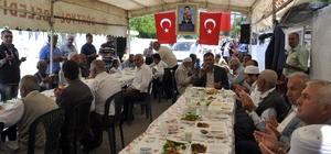 Şehit polis için şehadetinin yıl dönümünde mevlit okutuldu