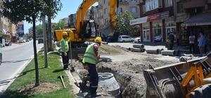 SASKİ Orhangazi Caddesinde altyapı çalışmalarını sürdürüyor