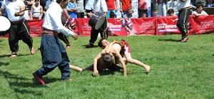 Gaziantep'te Aşırtmalı Aba Güreşi Türkiye Şampiyonası