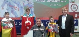 Foça'dan dünya şampiyonu çıktı