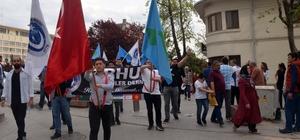 Orhun Derneği, 3 Mayıs Türkçülük Günü'nün 72. yıldönümü için yürüdü