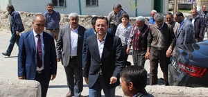 Milletvekili Gizligider rekortmen köye teşekkür ziyaretinde bulundu