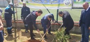 Trabzon'da 'Bir Fidan Bir İnsan' kampanyası devam ediyor