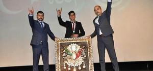 Gürün'de Ülkü Ocakları'ndan Ozan Manas konseri