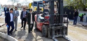 Meram'da 30 ekiple çevre düzenleme çalışması sürüyor