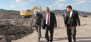 İncesu Belediyesi Çevre Yol Çalışmalarına Devam Ediyor