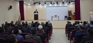 Başkan Vekili Akhan sorunları dinledi