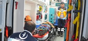 Yozgat'ta iki otomobil çarpıştı: 7 yaralı