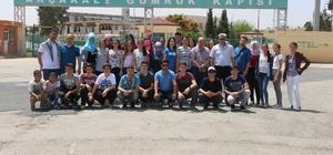 Balıkesirli öğrencilerden Akçakale'ye anlamlı ziyaret