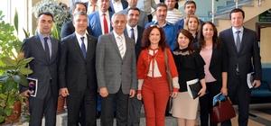Bankacı ve sarraflar ortak toplantıda buluştu