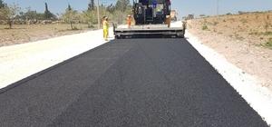 Taşra mahallelerin yolları asfaltlanıyor
