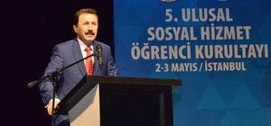 5. Sosyal Hizmet Öğrenci Kurultay'ı Esenler'de başladı