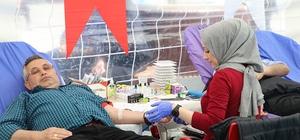 Esenler kanını bağışladı