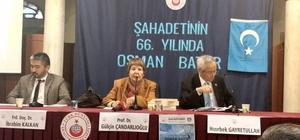 Osman Batur İstanbul'da  anıldı