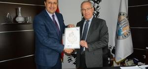 Dinar Belediyesi için pul yapıldı