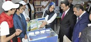 Gürün'de TÜBİTAK 4006 Bilim Fuarı açıldı