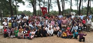 800 kişilik aile piknikte buluştu