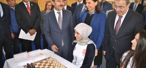 Okullararası Satranç Türkiye şampiyonası Nevşehir'de başladı