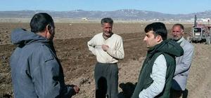 Başkan Vekili Bayır'dan çiftçilere ziyaret