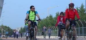 Mersin'de Avrupa Bisiklet Yarışması heyecanı başladı