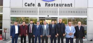 Başkan Yazıcı, Anadolu yakası belediye başkanlarını Tuzla'da ağırladı