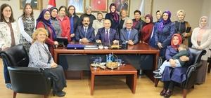 AK Parti İl Başkanlığı Topbaş'ı ağırladı
