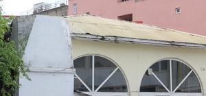 Hoca Ömer Caminin Minaresi yapılmayı bekliyor
