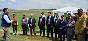 Kütahya'da 'tamburlu ve güneş enerjili sulama' sistemleri faaliyette