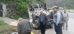 Koyulhisar'da trafik kazası: 1 yaralı