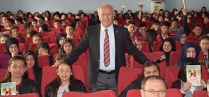 Tokat'ta lise öğrencilerine konferans verildi