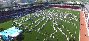 Esenler'de 744 öğrenciden sema gösterisi yapıldı