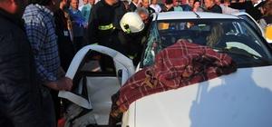 Bursa'da otomobille minibüs çarpıştı: 5 yaralı