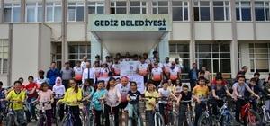 Türkiye Sağlıklı Kentler Birliği bisiklet kafilesi Başkan Saraoğlu'nu ziyaret etti