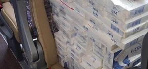 Hakkari'de 12 bin 500 paket kaçak sigara ele geçirildi