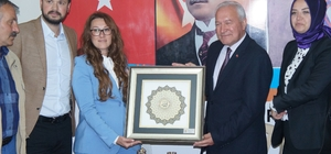 Başkan Karadağ'dan teşkilatlara teşekkür ziyareti
