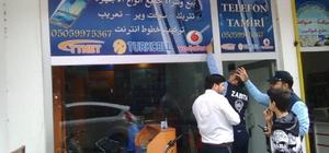 Kırıkhan'da Arapça tabela, poster ve afişler kaldırıldı