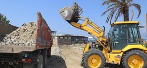Burhaniye Engelleri Aşıyor Projesi'nde peyzaj düzenlemesi başladı