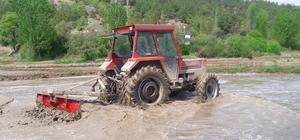 Hanönü'de çeltik ekimi hazırlıkları başladı