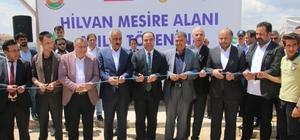 Hilvan'da mesire alanı hizmete açıldı