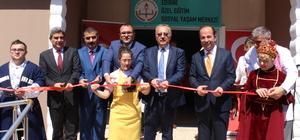 Edirne'de Özel Eğitim Sosyal Yaşam Merkezi açıldı