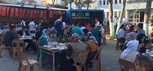 Köydeki 'büyük hayır' etkinliğine 3 bin kişi katıldı