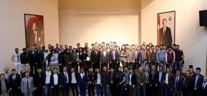 AİÇÜ'de birinci uluslar arası misafir öğrenci buluşması yapıldı