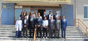 İl Milli Eğitim Müdürü Aşım'ın okul ziyaretleri