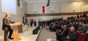 """Bitlis'te """"Ortadoğu denkleminde Türkiye'nin yol haritası"""" konferansı"""