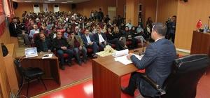 TESO Başkanı Tekin'den öğrencilere konferans