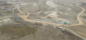 Eskişehir Gökpınar Barajı'nda yüzde 27 fiziki gerçekleşmeye ulaşıldı