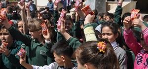 Sivas'ta öğrencilere el yıkama eğitimi verildi